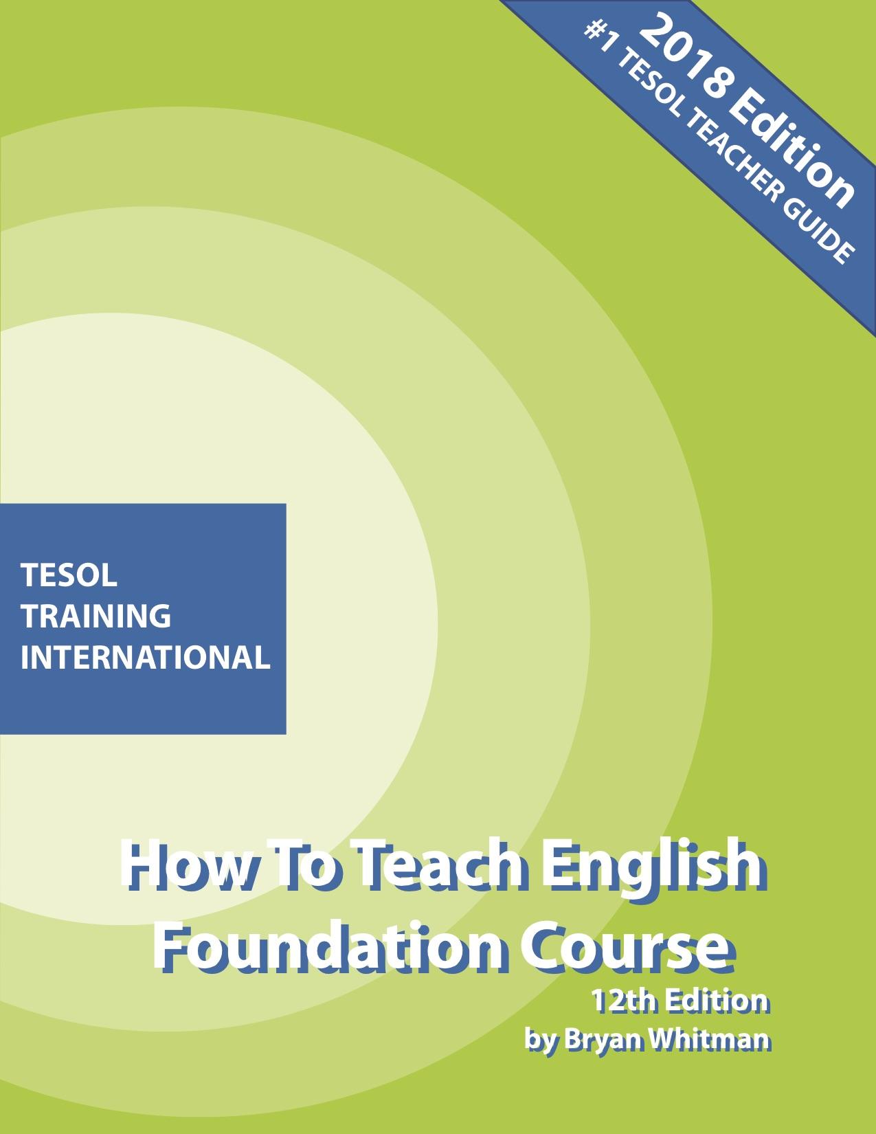 TESOL  Foundation Course